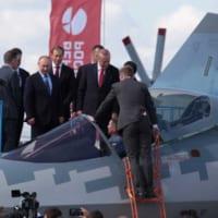 トルコのエルドアン大統領 ロシアの航空ショーでステルス戦闘…