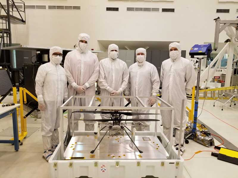 NASAの火星探査機にヘリコプター搭載 地球以外の大気圏を飛ぶ初めての航空機