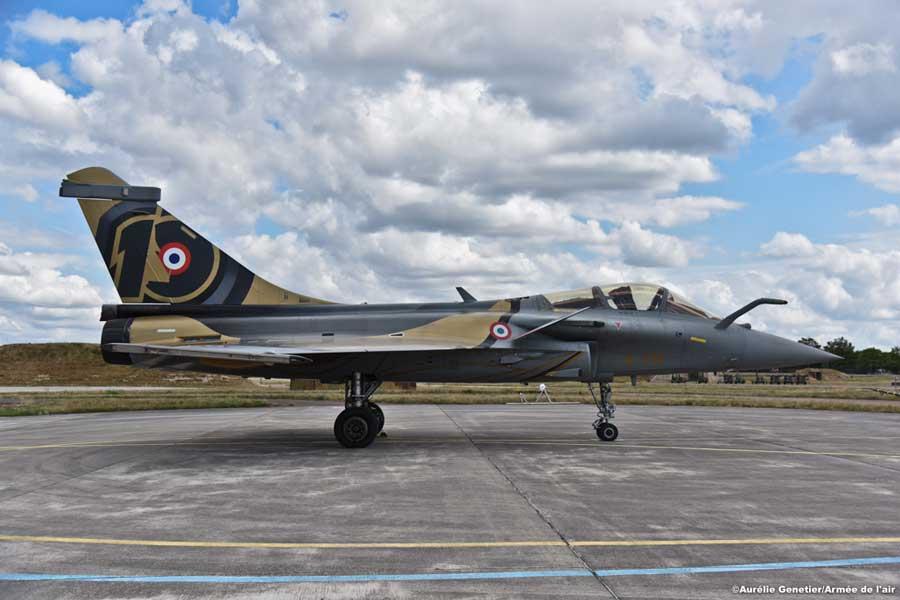 フランス空軍ラファール・ソロディスプレイ 10周年記念の新塗装を公開