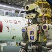 ロシアのロボット宇宙飛行士 ソユーズ宇宙船で国際宇宙ステーシ…