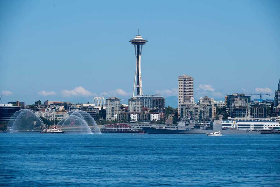 アメリカ海軍恒例のイベント「フリートウィーク」シアトルで開催