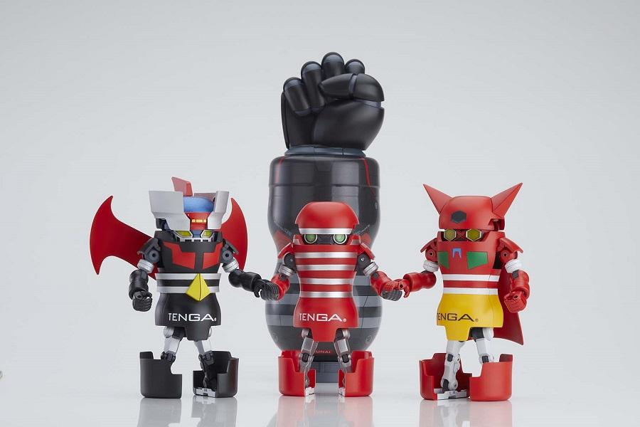 TENGAが「マジンガーZ」&「ゲッターロボ」とコラボ 変形フィギュア誕生