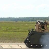 対戦車戦闘も無人の時代へ 無人車両からの対戦車ミサイル発射…