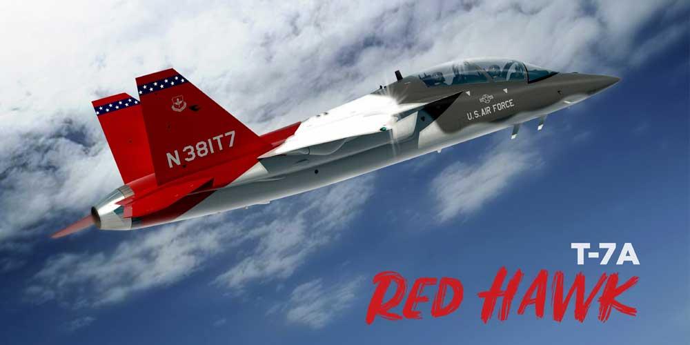 アメリカ空軍の新型ジェット練習機 制式名称「T-7Aレッドホーク」に決定