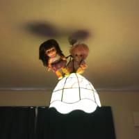 妖精の部屋にするつもりがホラーに……不気味さ放つ照明