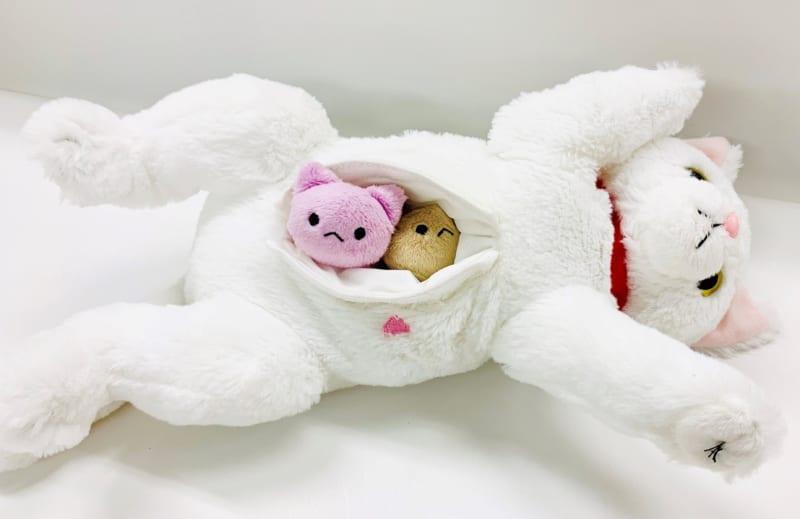 ぬいぐるみを通して命の誕生を体験 「ねこ、産んじゃった」10月発売