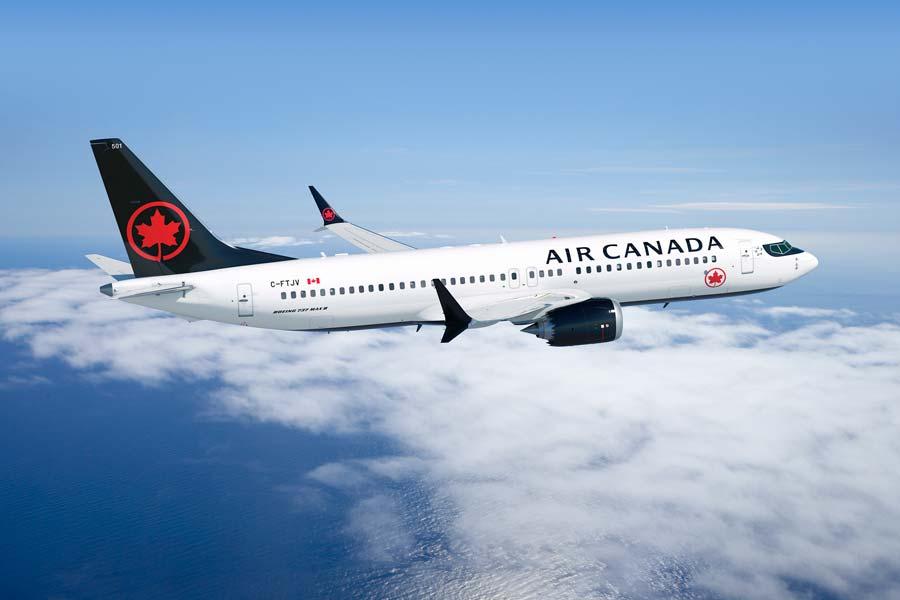 エア・カナダ ボーイング737MAXの運航停止を2020年2月まで延長