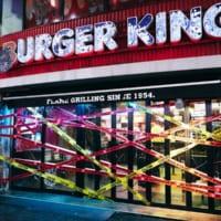 バーガーキング渋谷センター街店が「ゾンビ向け店舗」に 限定商…