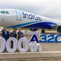 エアバス A320neoファミリー1000機目の…