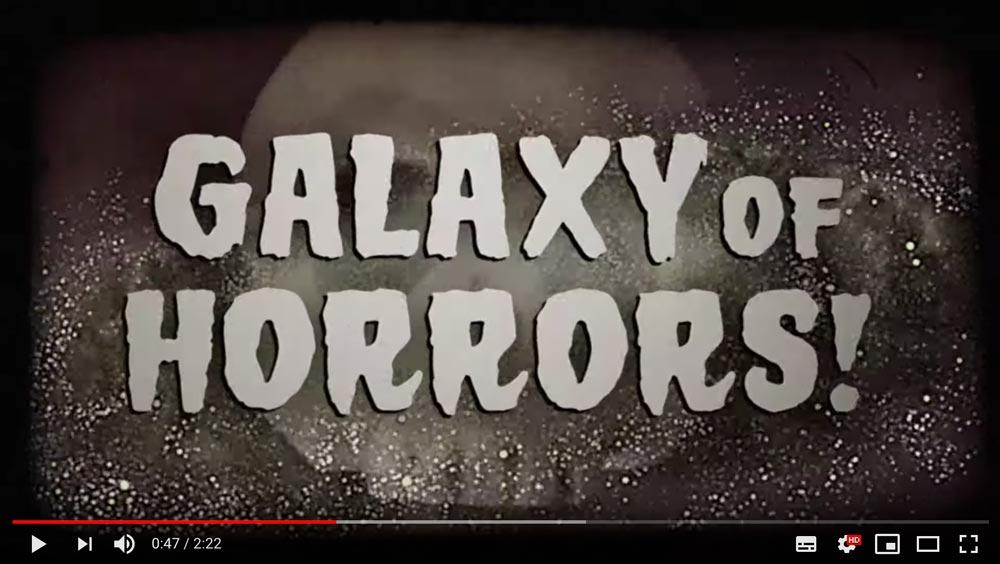 NASAのハロウィンは「恐怖の星」 実在する星をモチーフにホラー映画風ポスターと映像公開