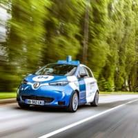 ルノーがパリの大学で自動運転車のオンデマンドサービス実験開始