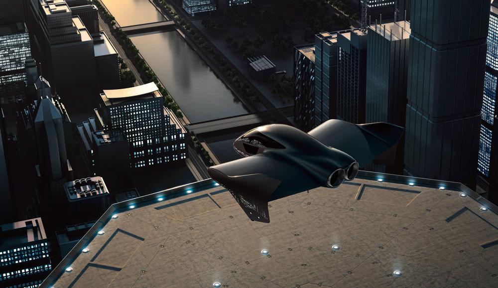 ポルシェがボーイングと提携「空のタクシー」を共同開発