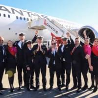 史上初!カンタス航空ニューヨーク~シドニー19時間超の直行…
