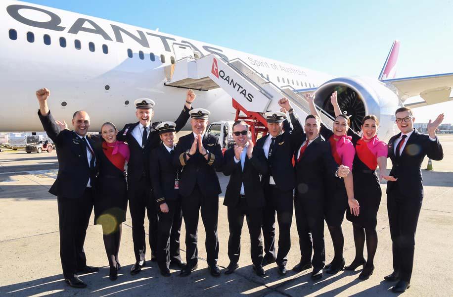 史上初!カンタス航空ニューヨーク~シドニー19時間超の直行便を運航
