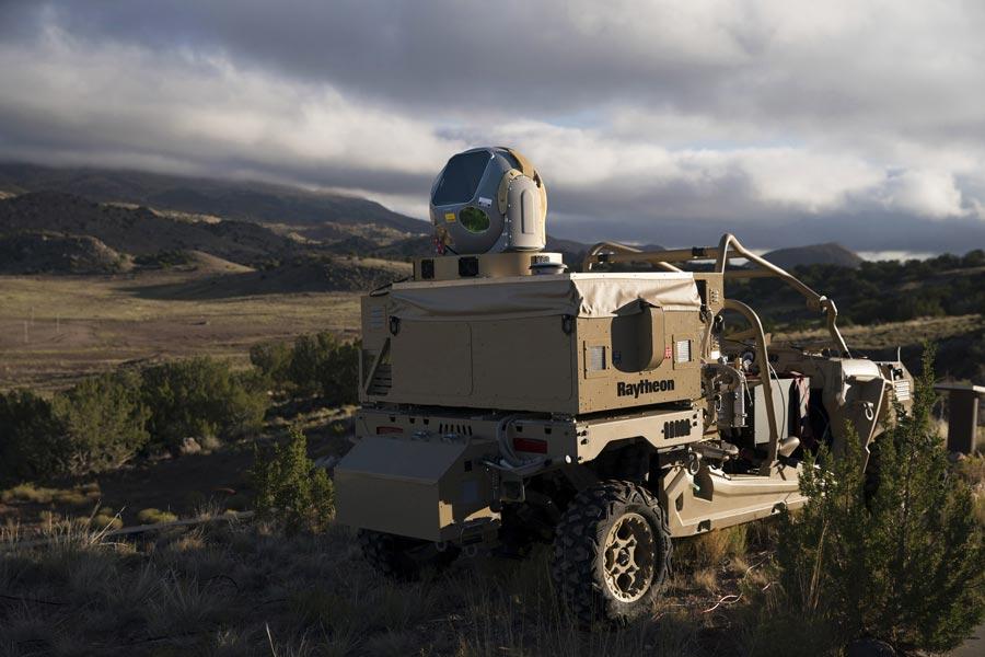 レイセオン 対ドローン用レーザー兵器をアメリカ空軍に納入