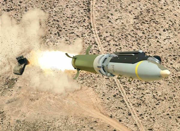 地上発射型小直径爆弾 サーブとボーイングが試射に成功