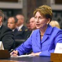 アメリカ空軍長官にバレット氏 3代連続で女性が就任