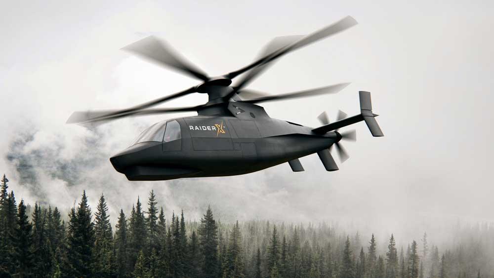 シコルスキーがアメリカ陸軍次世代軽攻撃ヘリコプターにレイダーXを提案