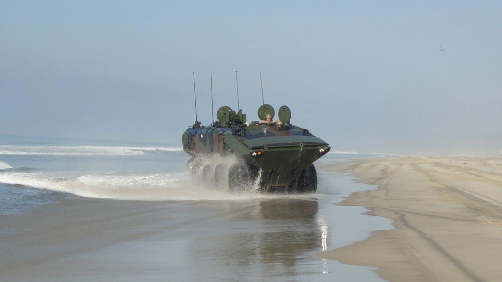 アメリカ海兵隊 新型水陸両用車ACVを追加発注