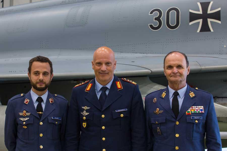 ドイツ空軍「トップガン」養成学校 2019年の卒業式開催