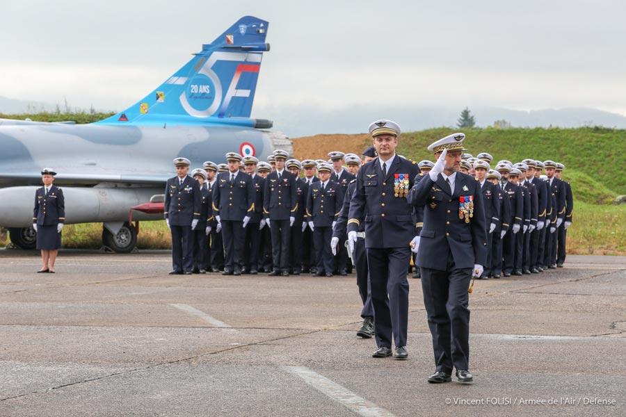 フランス空軍 ミラージュ2000-5戦闘機20周年のスペシャルマーキング機公開