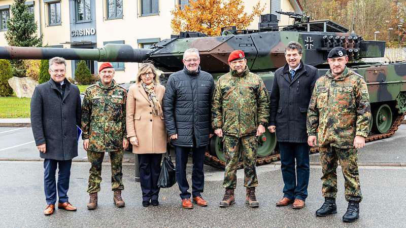 ドイツ陸軍戦車部隊増勢へ 第363戦車大隊が南東部ハルトハイムに復活