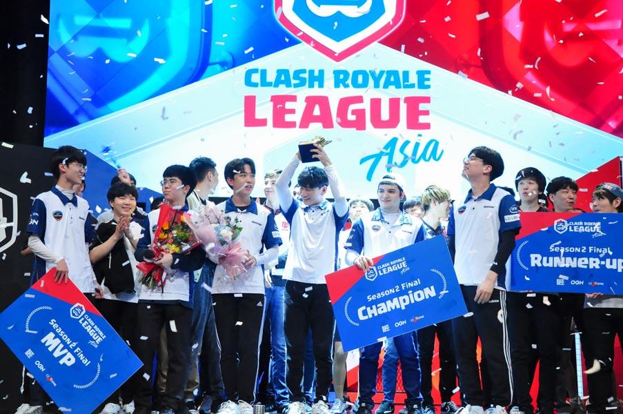 「クラロワリーグ アジア2019」シーズン2王者は韓国のOGN ENTUS 日本のFAV gamingと世界一決定戦へ