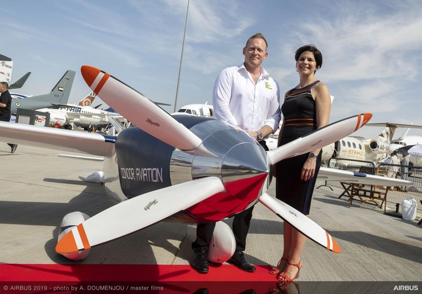 2020年開始の電動飛行機エアレース「エアレースE」ドバイ・エアショウでレース機初披露