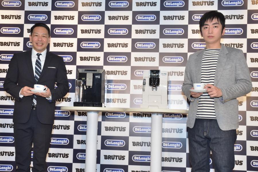 松浦弥太郎と羽田圭介がコーヒーを語る デロンギ×BRUTUSトークイベント