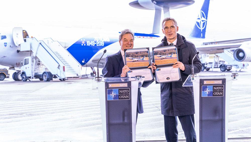 NATOのAWACS 総額1100億円規模の近代化改修計画を発表