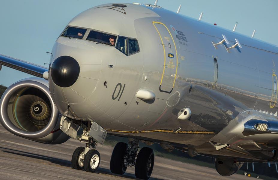 イギリス空軍 新型哨戒機ポセイドンMRAの1号機を受領