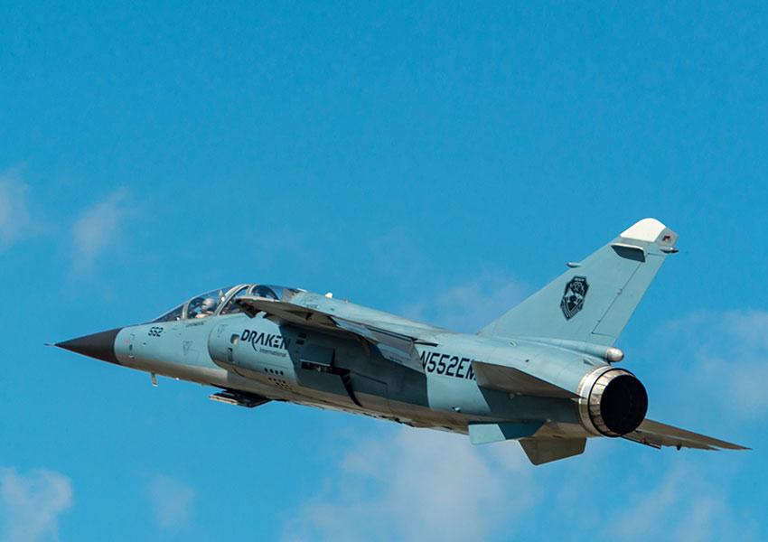 元スペイン空軍のミラージュF1戦闘機 民間企業の仮想敵機に改修
