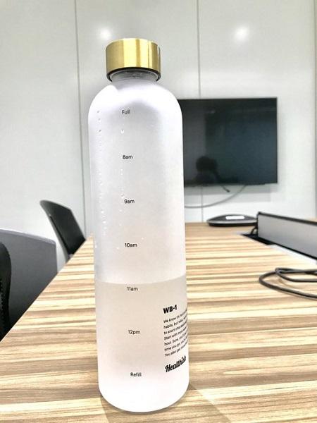 「今どれだけ水分とれてる?」が意識しやすい水筒に大注目 こまめにゴクゴクは大事!