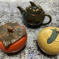 果物モチーフの急須セットに一目ぼれする人続出 趣味の陶芸作…
