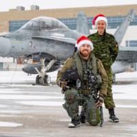カナダ空軍 毎年恒例「サンタのエスコートパイロット」発表