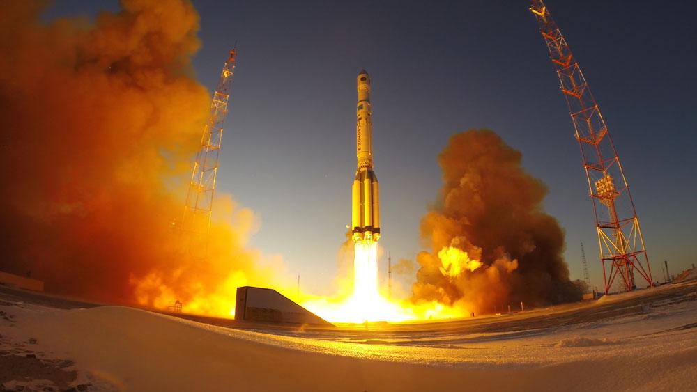 ロシアの気象衛星エレクトロ-L 3号機の打ち上げに成功