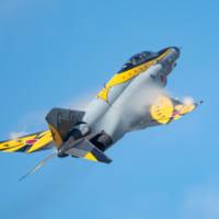 これでお別れ ファントム飛行隊最後の百里基地航空祭