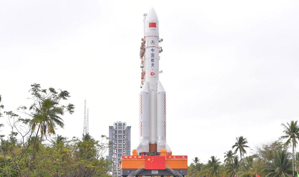 中国の新型ロケット長征5号3号機 まもなく打ち上げ試験へ