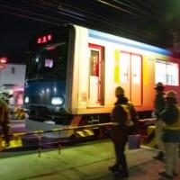 レアな工事車両も登場!東武野田線複線化線路切り替…