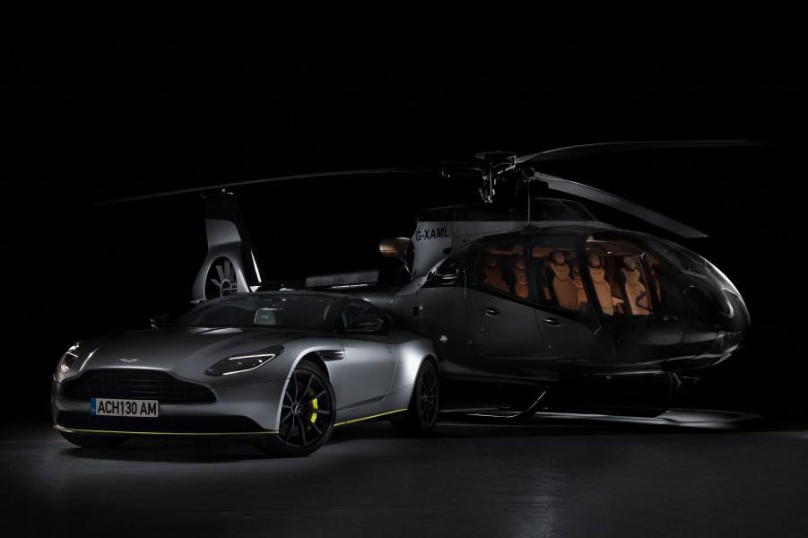 エアバス アストンマーティンとコラボしたVIPヘリ発表