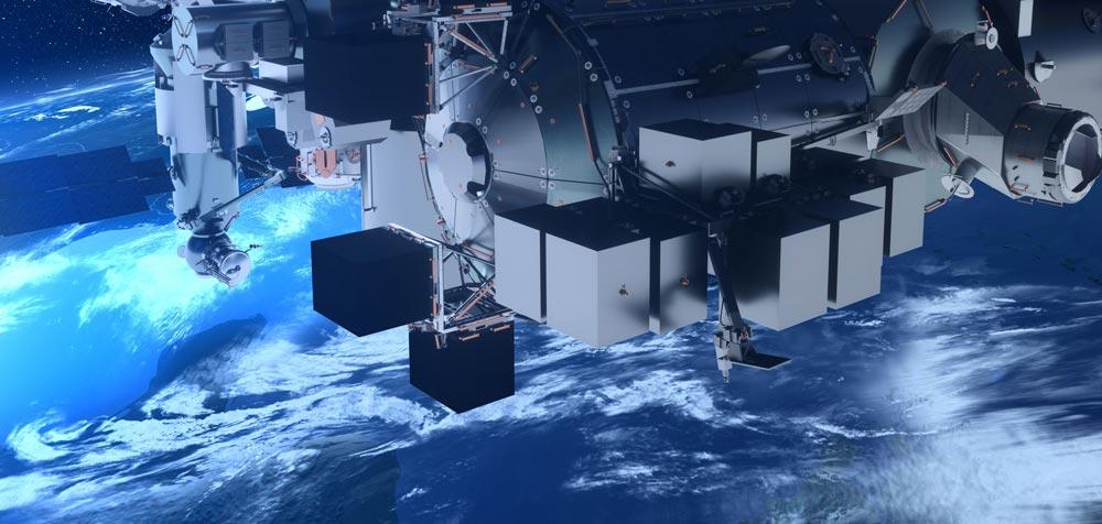 国際宇宙ステーション用実験・観測プラットホーム「バルトロメオ」搭載機器第1号決定