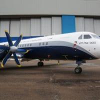 ロシアのイリューシン 最新ターボプロップ旅客機Il-114…