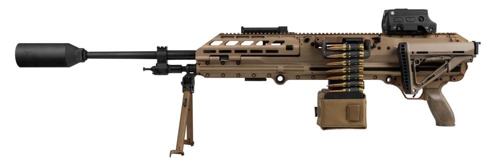 アメリカ特殊作戦軍 新しい分隊支援火器にSIG MG338を採用