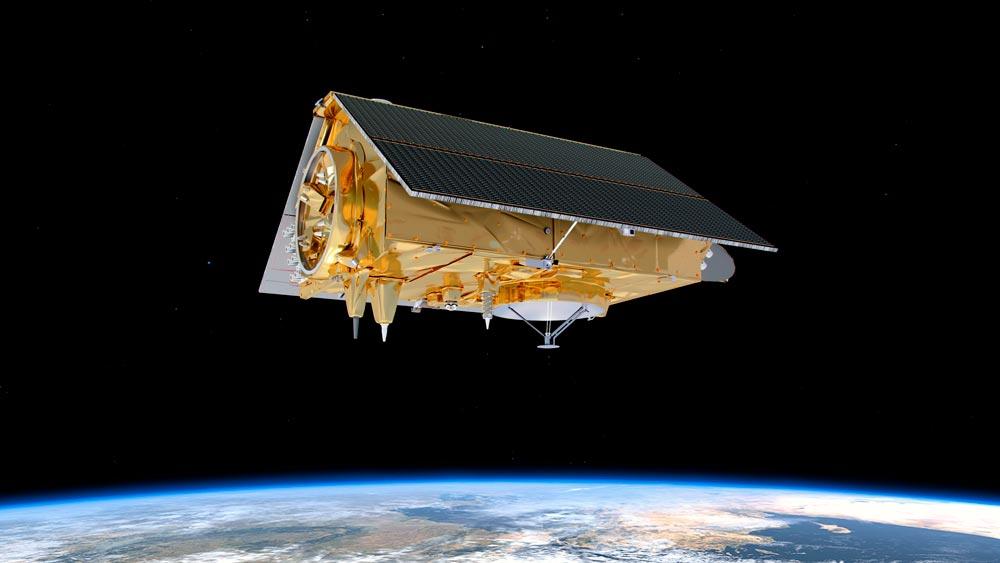 地球観測衛星センチネル-6A 元NASA科学者の名前に