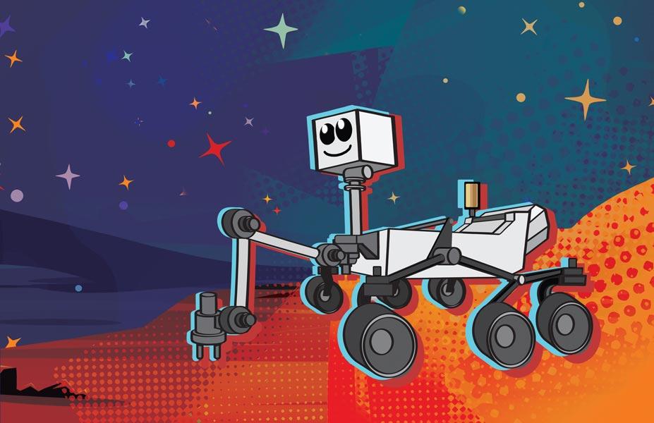 NASAの火星探査ローバー 子供から募集の名称最終候補作が出揃う