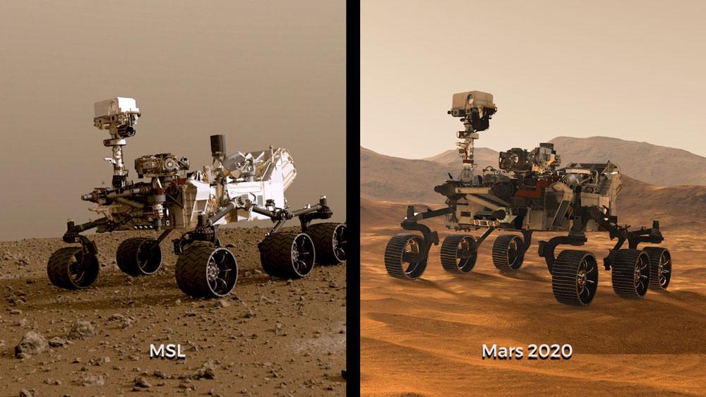 NASAの火星探査ローバー 子供から募集の名称最終候補作が出揃う - 記事 ...