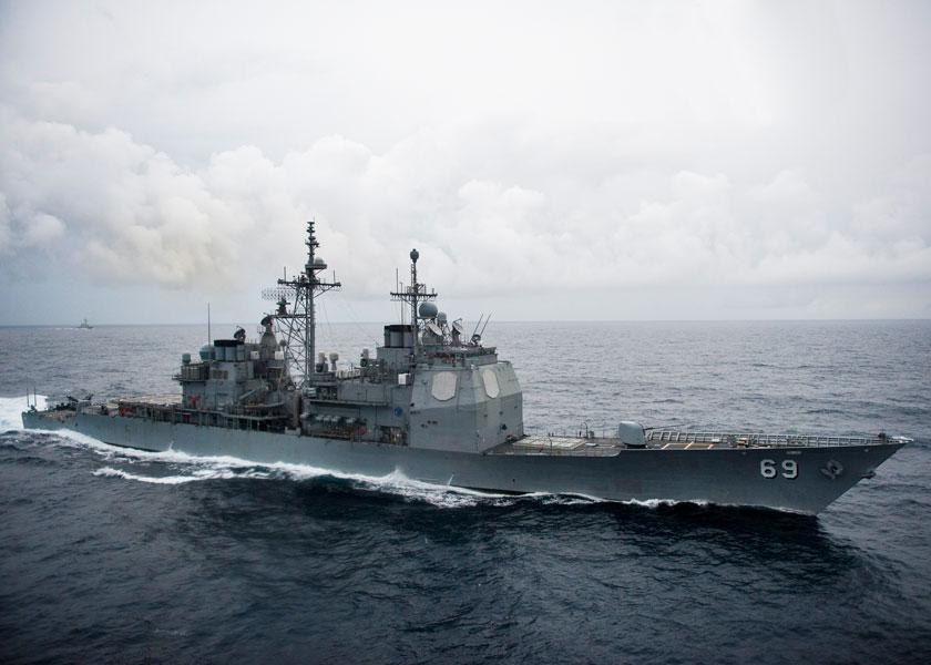 アメリカ巡洋艦ヴィックスバーグ 総額190億円で近代化改修