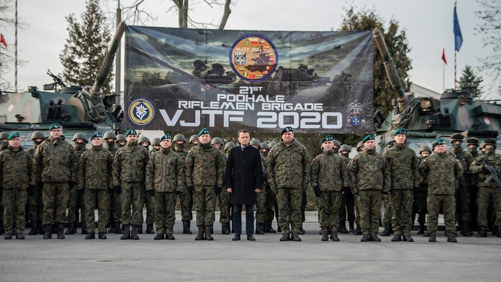 いざという時即参上!NATO高度即応統合任務部隊にポーランド軍着任