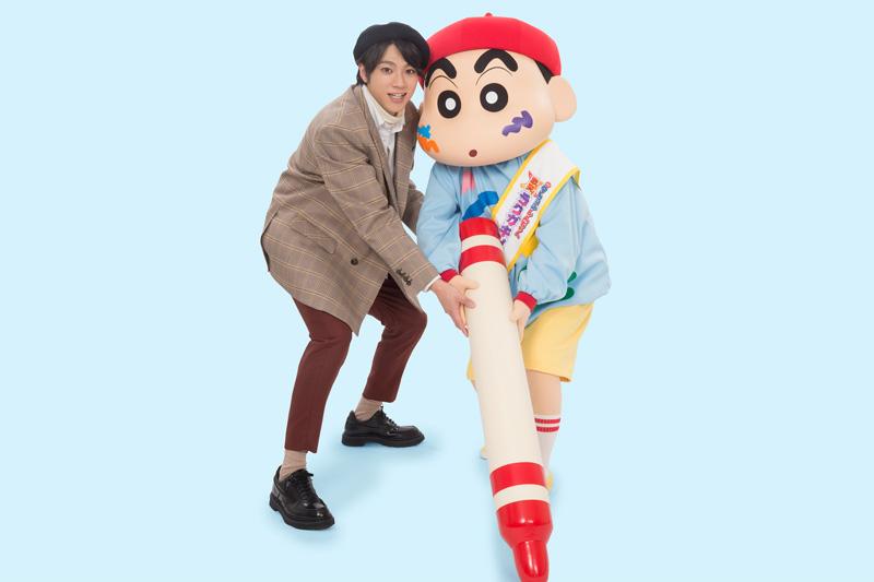 山田裕貴が「映画クレヨンしんちゃん」でアニメ声優に初挑戦 「ドキがムネムネ~です!」