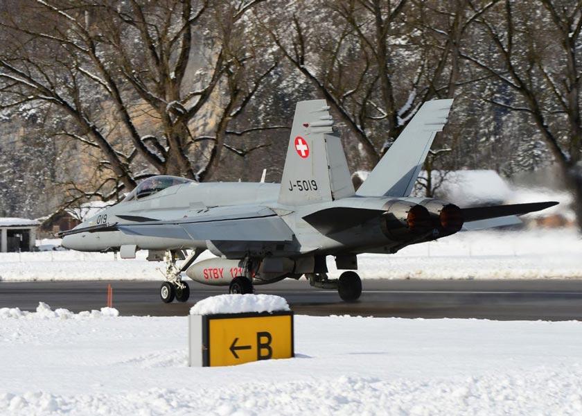 ダボス会議の空を守ったスイス・オーストリア・ドイツ空軍
